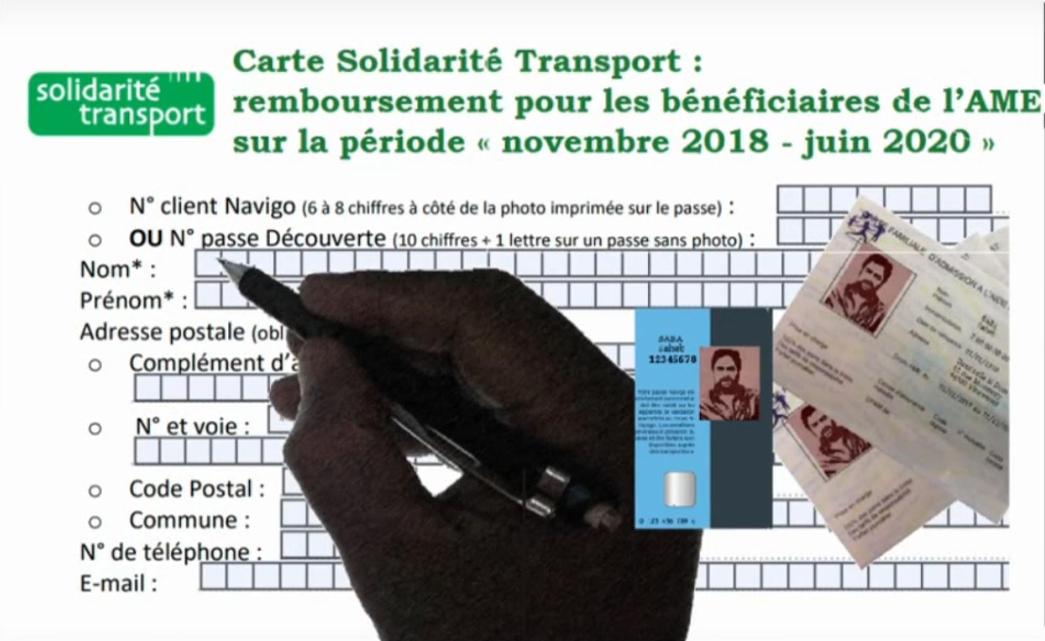 Transports Idf Et Ame Faire Valoir Ses Droits Seronet