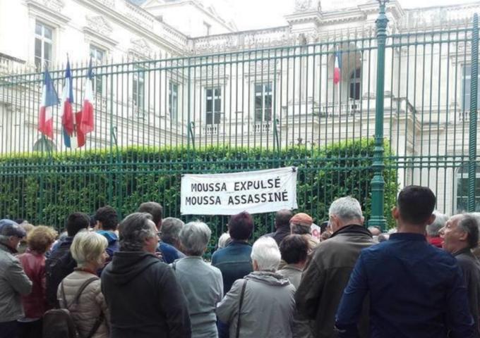 Mobilisation en France pour empêcher l'expulsion d'un homosexuel guinéen