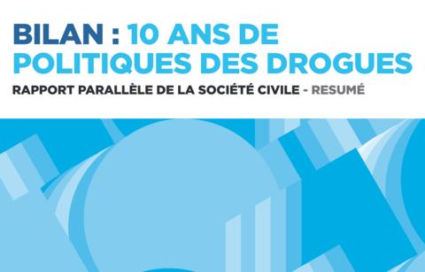 Drogues : le rapport parallèle d'IDPC ouvre les débats